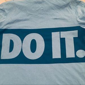 Nike Shirts & Tops - Nike Sportswear Just Do It Graphic Hooded T-Shirt
